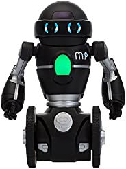 Wowwee Mip Robot Domestico Multimediale, Nero/Argento, 3 anni+