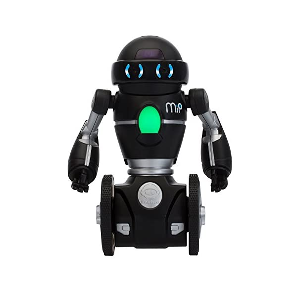 41Eof0W4lxL. SS600  - Wow Wee - Robot MiP, color negro (825)