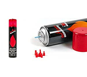 lot 2 recharges de gaz 300 ml pour briquets et chalumeau de cuisine cuisine maison. Black Bedroom Furniture Sets. Home Design Ideas