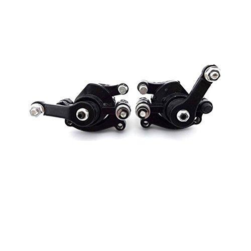 Pocketbike - Pit Bike - Dirt Bike - Mini Cross Bremssattel Set Hinten + Vorne Neu 49ccm Dirtbike Kinder Motorrad Bremse