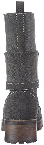 Rocket Dog LAWRENCE Damen Biker Boots Grau (Grey)