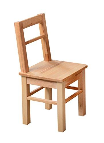 Möbeldesign Team 2000 GmbH 1199 - Kinder- oder Beistellstuhl aus kernbuche massiv Holz