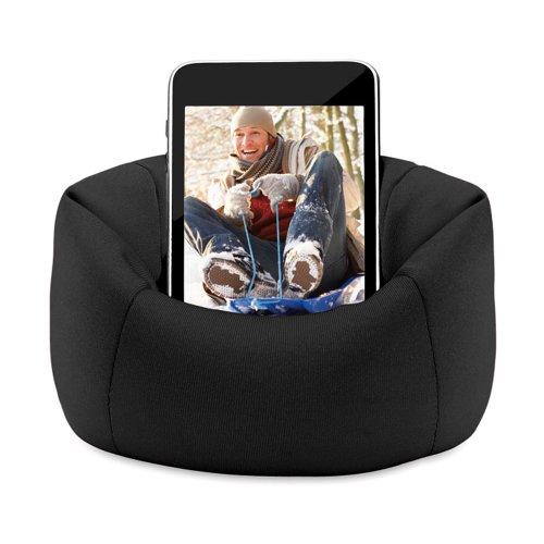 eBuyGB Sitzsack Sofa Pouch Fall für iPhone/iPod/Samsung Smartphone-Schwarz