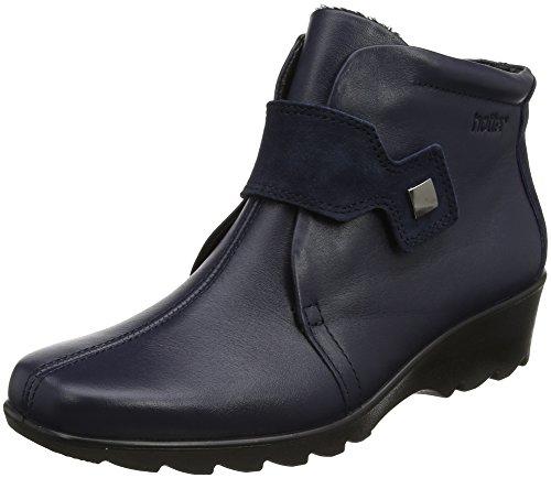Hotter Women Tamara Ankle Boots, Blue (Navy), 4 UK 37 EU