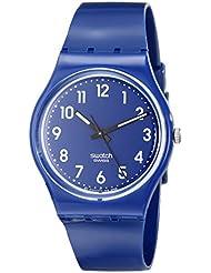 Swatch Unisex-Armbanduhr Up-Wind Analog Quarz Plastik GN230