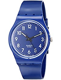Swatch Unisex-Armbanduhr Up-Wind Analog Quarz Plastik GN230
