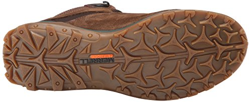 Merrell Shoes - Merrell Fraxion Mid Shoes - Bro... Chocalte Brown