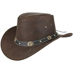 Sombrero de Piel Reno de Niño by Scippis sombrero australianosombrero outdoor sombrero australiano