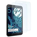 Bruni Schutzfolie für Samsung Galaxy Tab Active 2 Folie - 2 x glasklare Displayschutzfolie