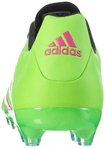adidas Ace 16.2 FG/AG, Chaussures de Foot Homme Vert / Rose / Noir (Versol / Rosimp / Negbas)