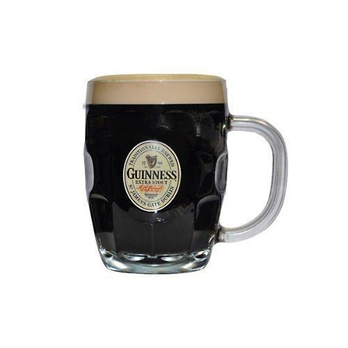 (Guinness Label Glass Beer Mug - 16 oz by Guinness)