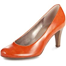 Gabor 51.270 Damen Plateau Pumps High Heels Lack rosa
