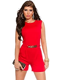 c85146b3e6 business playsuit in different colors and sizes - Short Jumpsuit suit with  gold buckle (OV67911