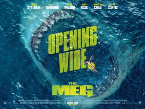 Import Posters The Meg – Jason Statham – U.S Movie Wall Print - 30CM X 43CM Brand New