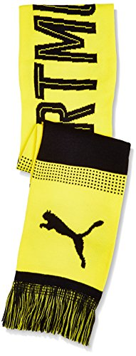 Puma Bvb Fan Scarf Schal cyber yellow-puma black