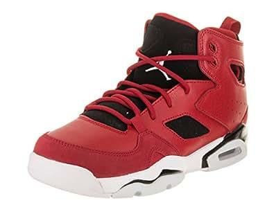 best service 894ca 38db7 Nike Girls' Jordan Air Flight Club 91 4.5 M US Gym Red/White ...