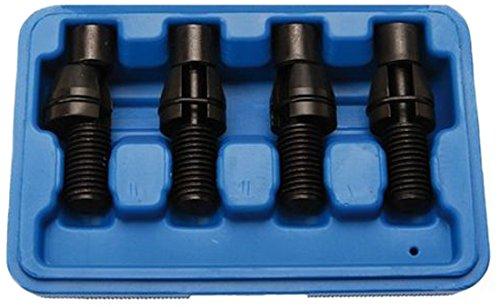 BGS Kit de Pernos de ajuste para Volkswagen/Audi de auxiliares Marco, 4piezas, 1pieza, 8306