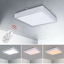 VINGOR 12W LED Deckenleuchte Badleuchte Schlafzimmer DesignBeleuchtung Wohnzimmerlampe Deckenlampe Innenlampe Wand Decke Esszimmer