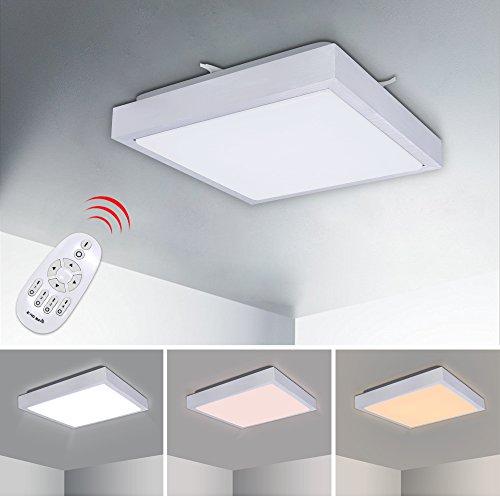 Deckenleuchten Moderne Led-deckenleuchte Leuchte Lampe Oberfläche Montieren Wohnzimmer Schlafzimmer Bad Fernbedienung Hause Dekoration Küche Farben Sind AuffäLlig