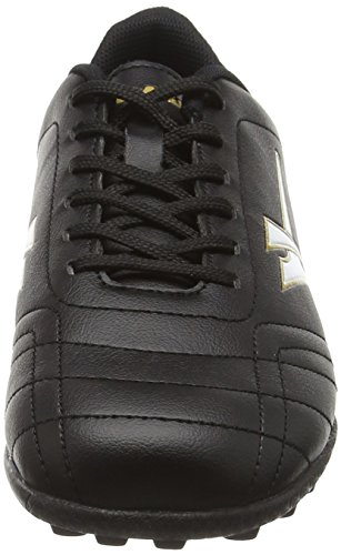 Gola Magnaz Vx, Chaussures de Football Entrainement Garçon Noir (Black/gold)