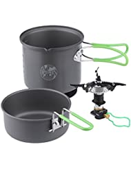 Optimus  cookset crux terra weekend he camping stove