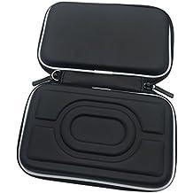 Meijunter Hart EVA Tragetasche Schutzhülle Tasche Hülle Etui für Nintendo Gameboy Advance GBA Gameboy Color GBC Konsole (Schwarz)