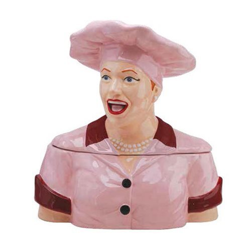 I love LUCY CHOCOLATE FACTORY Cookie Jar # 19872 -