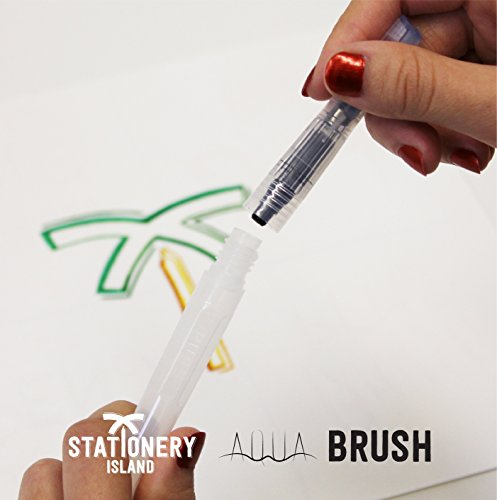 Zoom IMG-2 stationery island aqua brush pennello