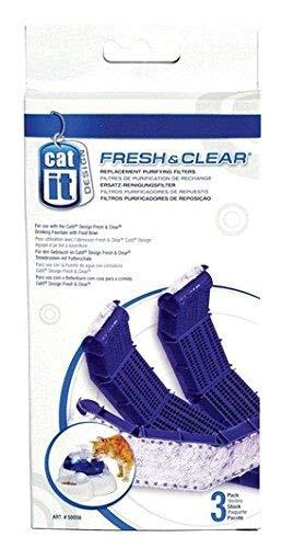 Catit Ersatz-Reinigungsfilter 3er-Pack für 3L Catit Trinkbrunnen (Art-Nr.: 50050)