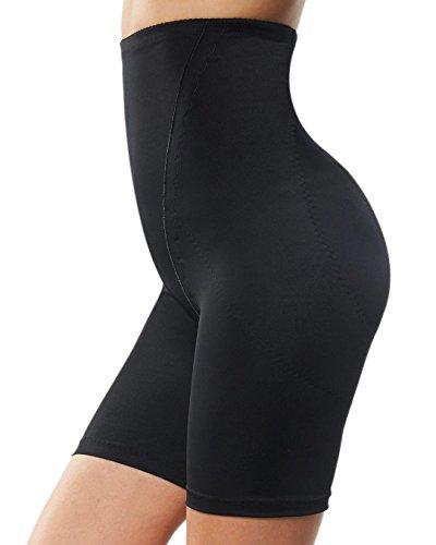 1b267e32b57b9 Franato Women s Shapewear Shorts High Waist Tummy Control Underwear Black
