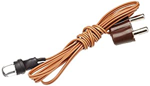 Rulke Rulke0113051 - Linterna led (5 mm, con Enchufe y Cable), Color marrón