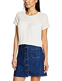 Tom Tailor Denim material mixed feminine blouse - Blusa para mujer