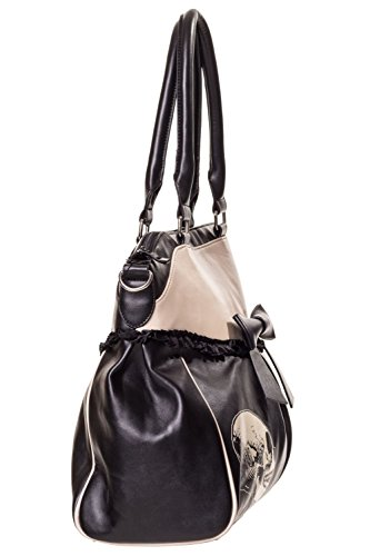 dd30c9e84ae1e Banned Damen Handtasche mit Handschellen-Details