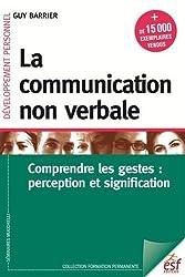 La communication non verbale : comprendre les gestes - perception et signification
