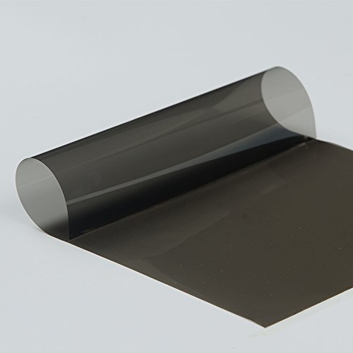 HOHO 4Mil Nano Keramik Tint Solar Fenster Folie Hitze Kontrolle Auto Folie Privacy Schutz für Fahrzeug Seite Auto Heckscheibe (Auto-fenster-folie 5)