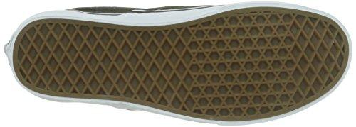 Vans Classic Slip-on, Unisex-Erwachsene Sneakers Schwarz (c L/black/str)