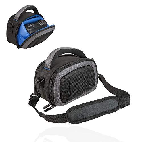Tasche - Hardcase für Camcorder passend für Panasonic HC V180 V380 V777 - Sony HDR CX240E CX405 usw - Schwarz blau