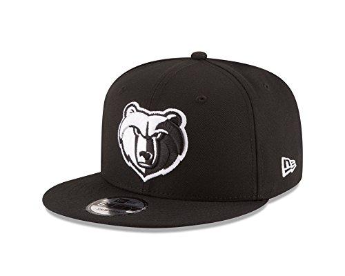 zlies NBA Black White Logo 9fifty Snapback Cap Limited Edition (Nba-memphis)
