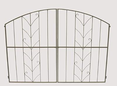 """Tor für Rosenbogen """"Juno"""" perlbeige, #10963 von Takasho - Du und dein Garten"""