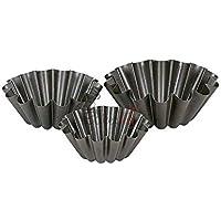 Preisvergleich für Bringt 3in One, aus Form mit Daisy Design Gravur Antihaftbeschichtung Teflon Backform Metall Pfanne Form für Haus und Küche.