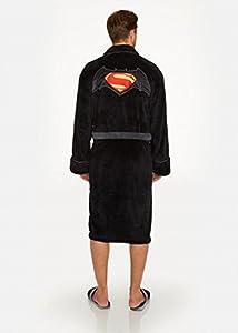 Officiel Batman v Superman Logo polaire robe de chambre Peignoir - adultes DC Comics