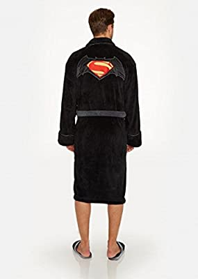 Officiel Batman v Superman Logo polaire robe de chambre Peignoir - adultes DC Comics