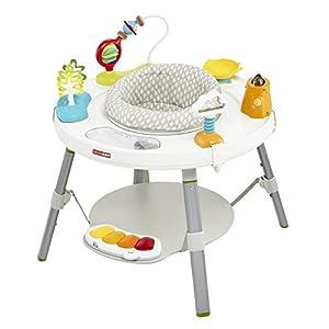 Skip Hop Explore und More 3 Stufen Activity Center Entwicklungs-Förderung Sitz Tisch für Babys und Kinder, mehrfarbig