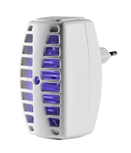 Windhager Insektenvernichter PLUG IN & CATCH Insektenlampe Mückenvernichter Mückenschutz, UV-Lampe, gift- und chemiefrei, bis zu 30m², 03506 (Langwellige Uv-lampe)