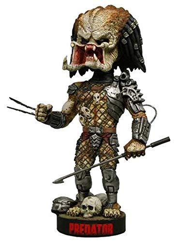 Predator - Head Knocker Wackelkopf Figur - Actionfigur - Hunter Unmasked with Spear - 23 cm