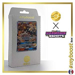 Heatran-GX 25/236 - #myboost X Soleil & Lune 11 Harmonie des Esprits - Box de 10 cartas Pokémon Francés