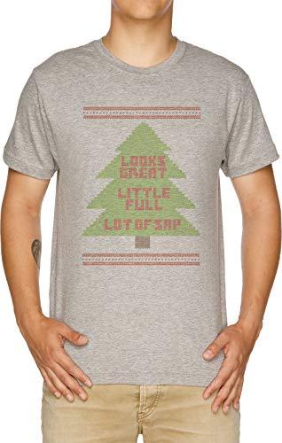Weihnachten Urlaub Hässlich Sweatshirt Herren T-Shirt Grau