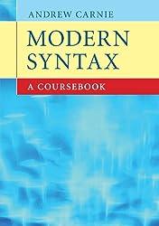 Modern Syntax: A Coursebook