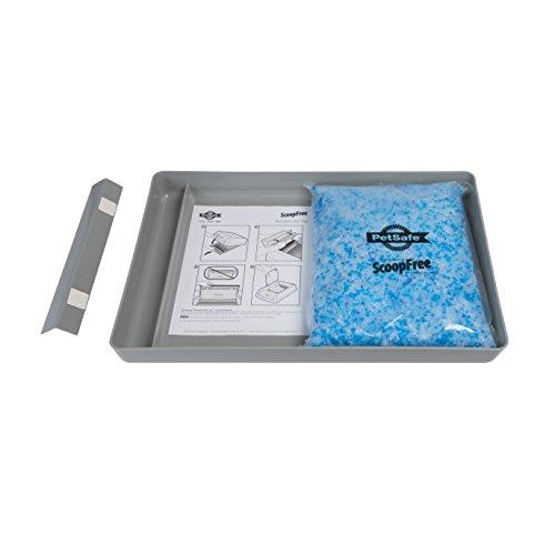 *PetSafe ScoopFree wiederverwendbar Katzentoilette mit Premium Blau Nicht-klumpend Kristall Katzenstreu*
