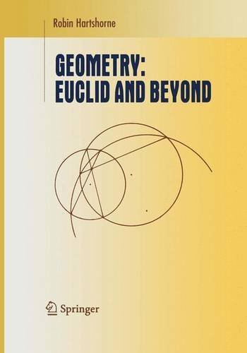 Geometry: Euclid and Beyond (Undergraduate Texts in Mathematics) by Robin Hartshorne (2005-09-28)